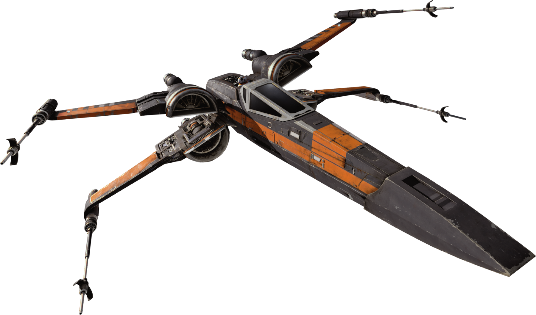 Studio scale x-wing red 5 scratch built by cory harvey (mensaboy)