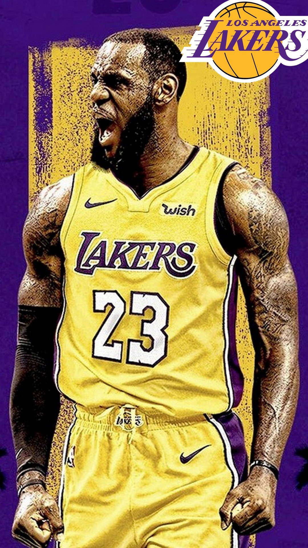 LeBron James Lakers iPhone Wallpapers 2020 Basketball Wallpaper 1080x1920