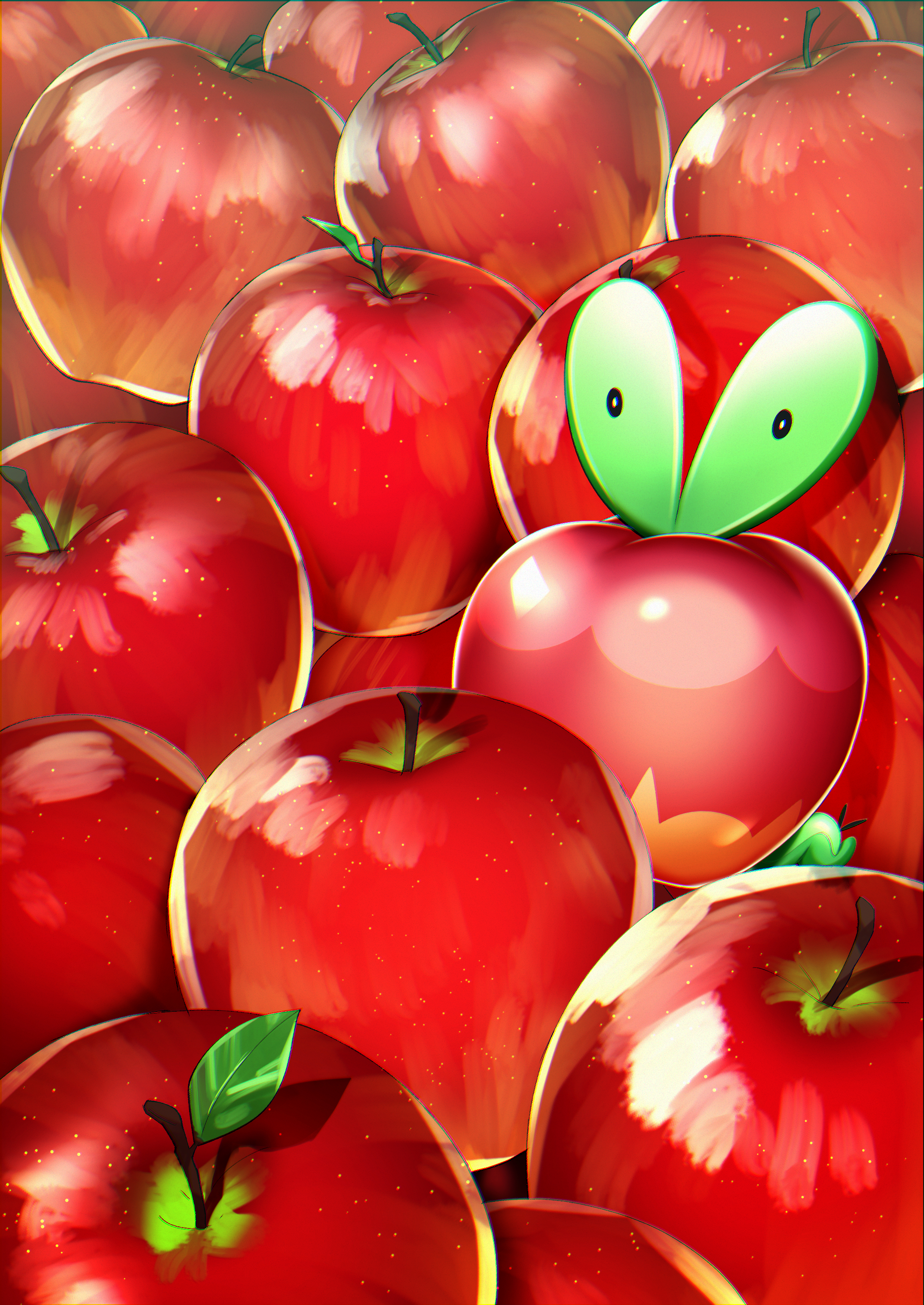 Applin   Pokmon Sword Shield   Zerochan Anime Image Board 2150x3035