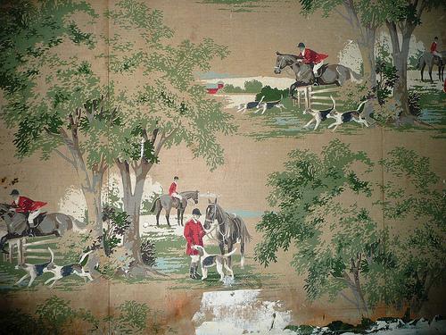fox hunt wallpaper 500x375