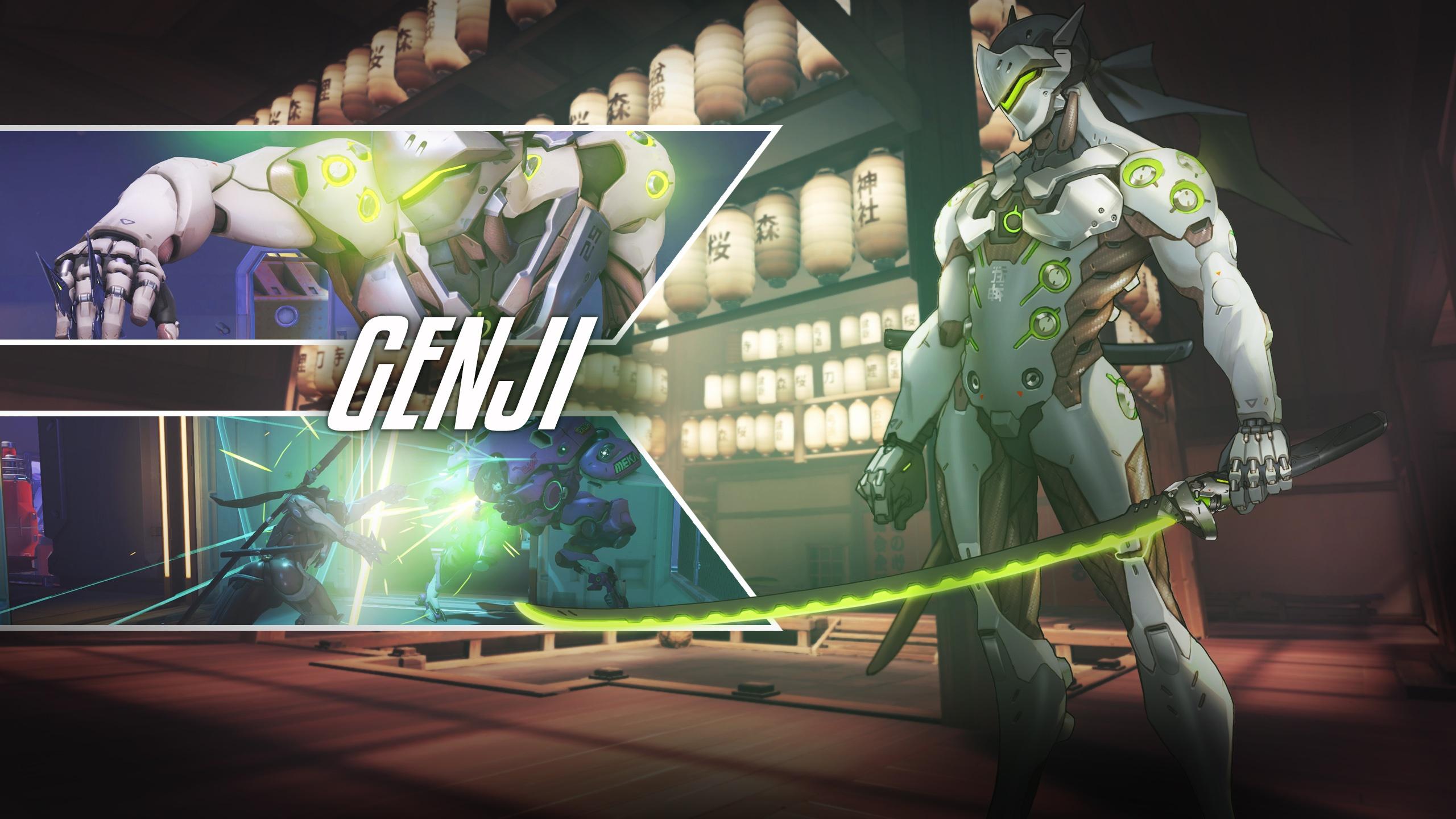 Genji Overwatch Wallpapers HD Wallpapers 2560x1440