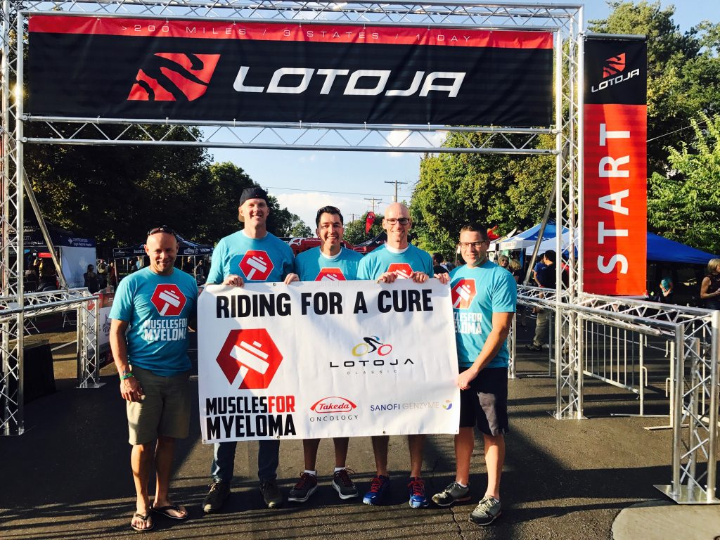 LOTOJA 2017 Richard Hite and the Muscles for Myeloma Team Raise 1024x768