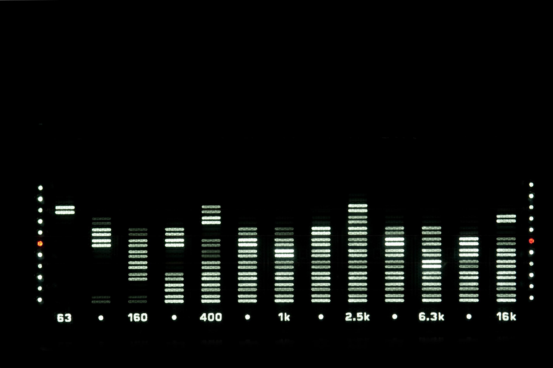 Stock Photo 4010 audio level display freeimageslive 3000x1996