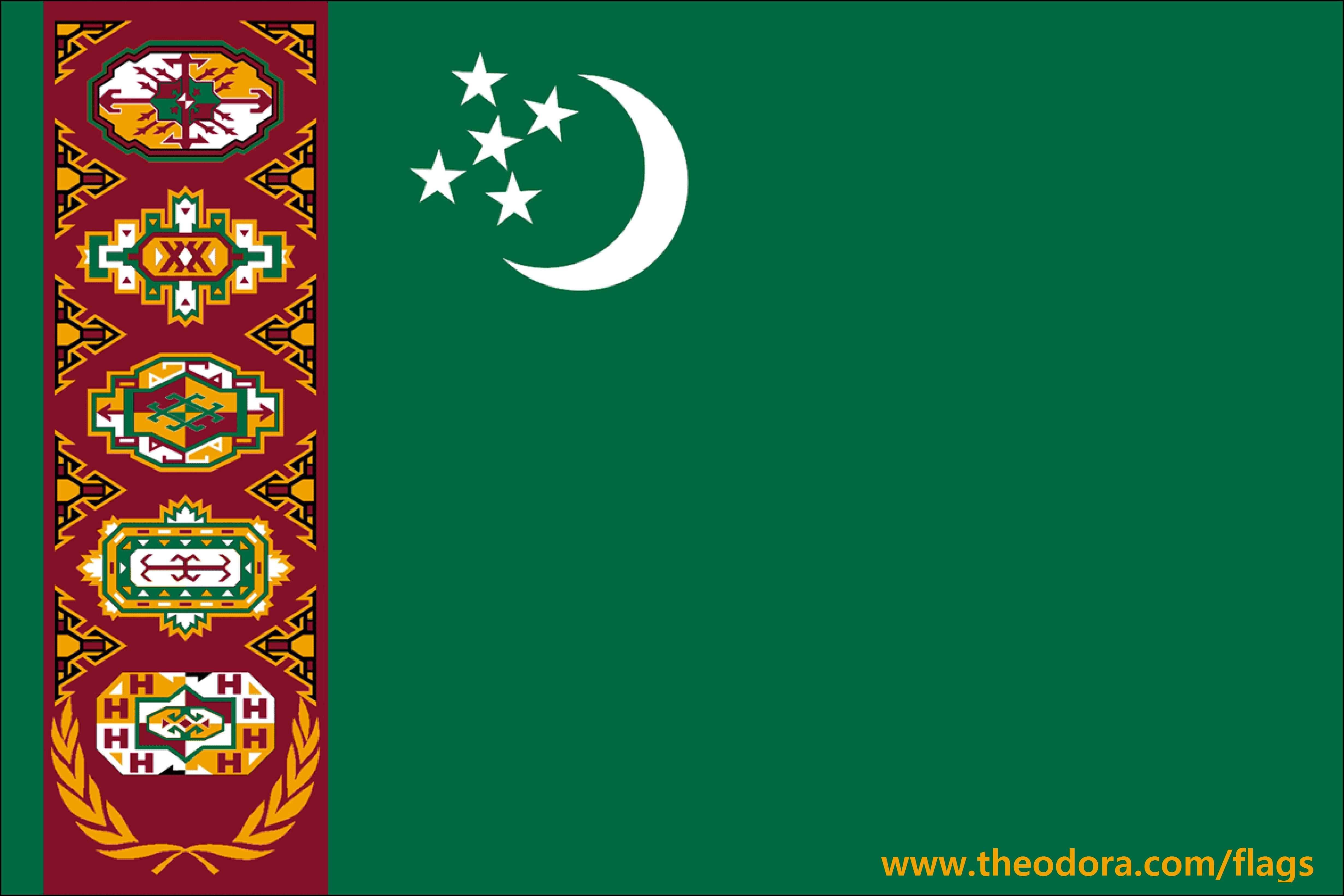 Turkmenistan Countries Flag id 118346   BUZZERG BUZZERG 4921x3283
