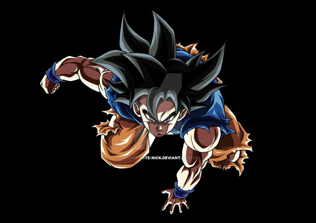 Goku Ultra Instinct   DBS [COLOR 1] by Thanachote Nick on 1024x724