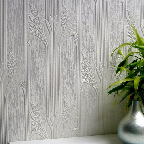 Brewster Wildacre Paintable Textured Vinyl Wallpaper Paint Home 500x500