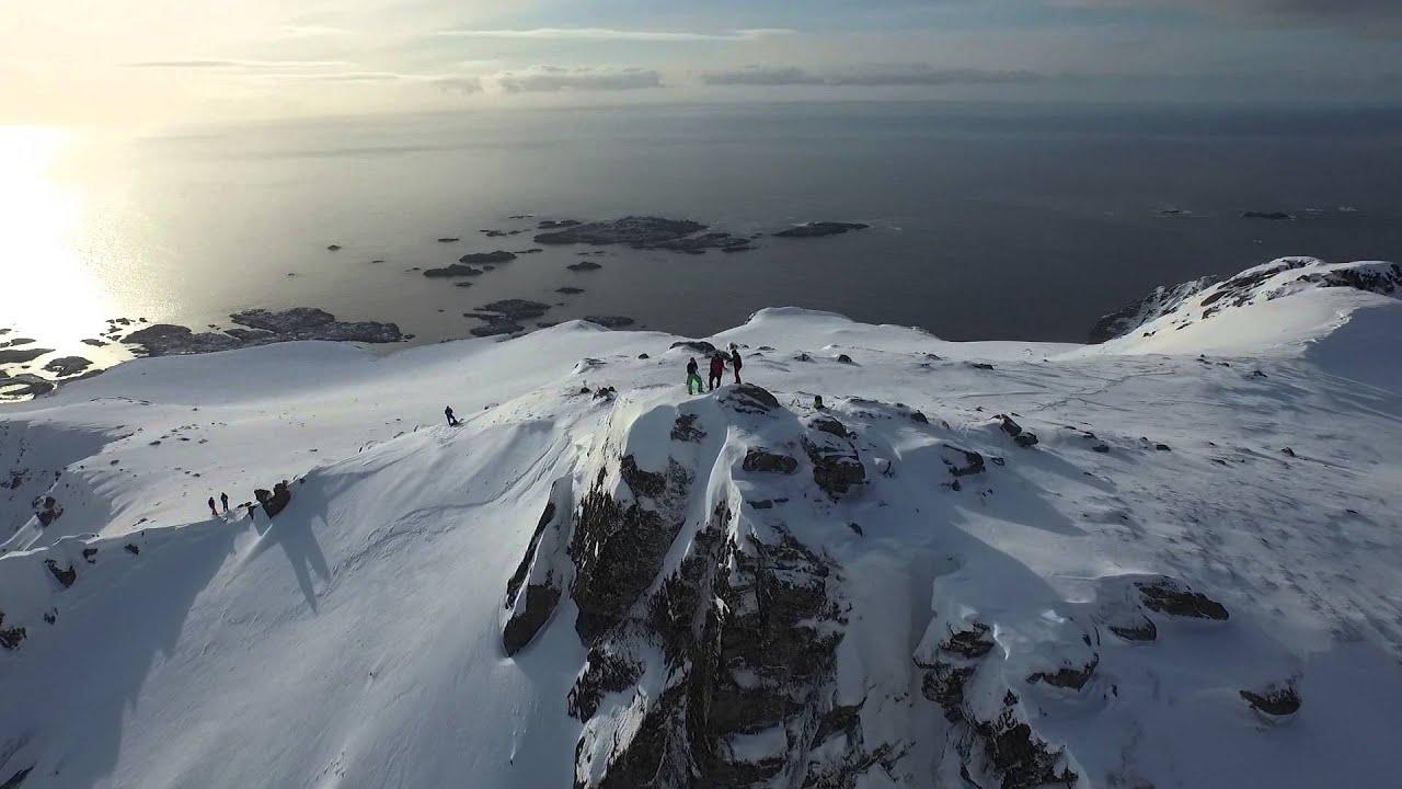 Freeskiing in Lofoten with Kaj Zackrisson 1920x1080