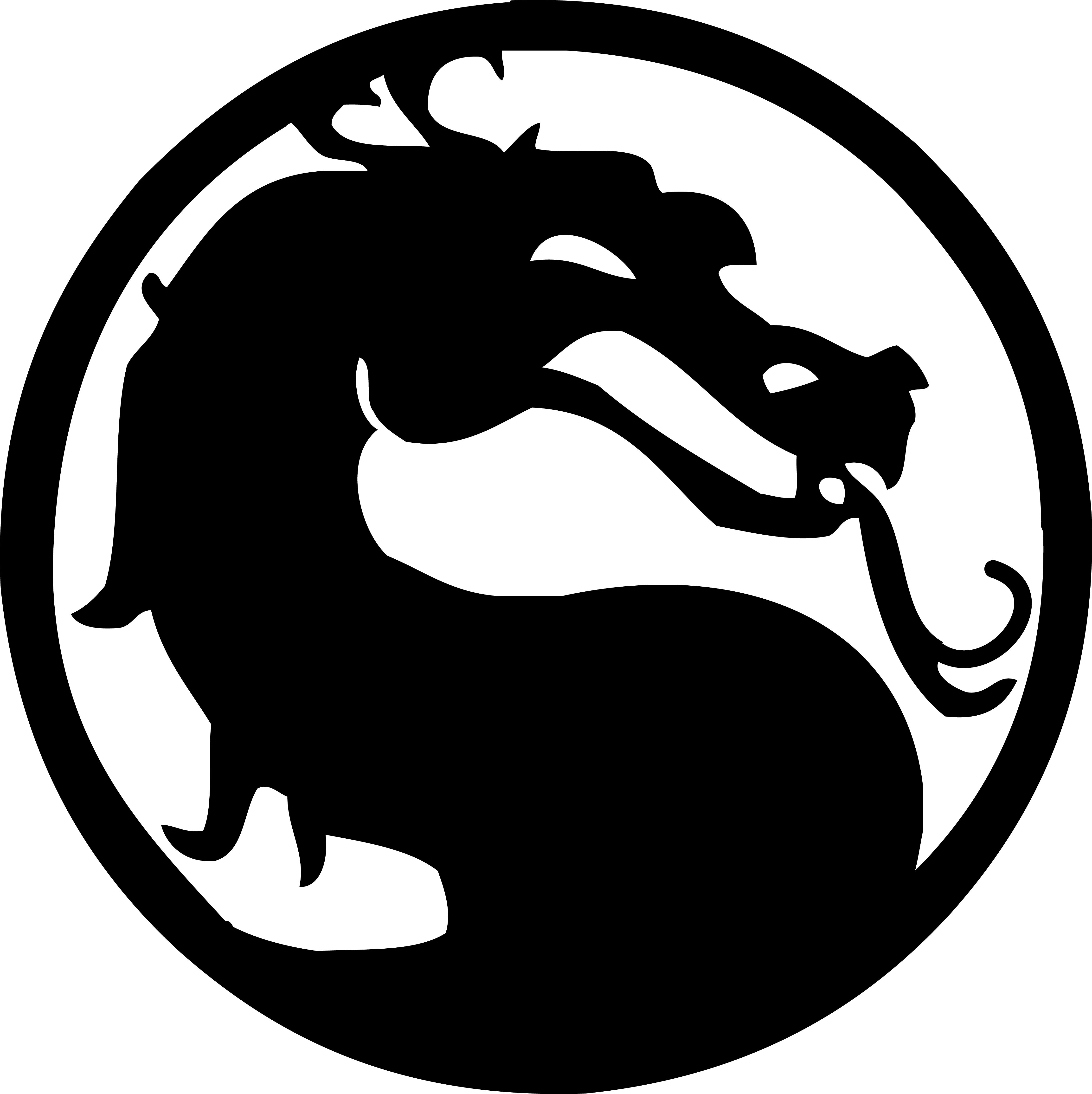 Mortal Kombat logo vector by reptiletc 4538x4545