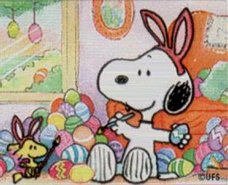 Easter Snoopy Image 764x620