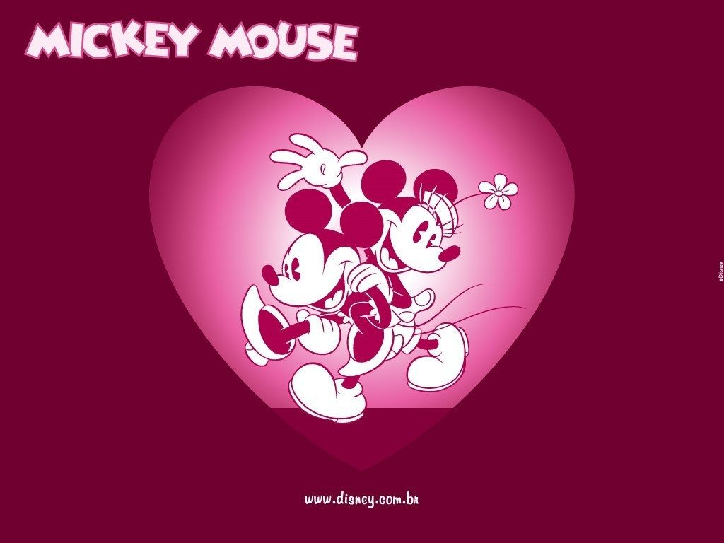 Mickey Mouse and Minnie Mouse Wallpaper mickey and minnie 6351094 1024 1024x768