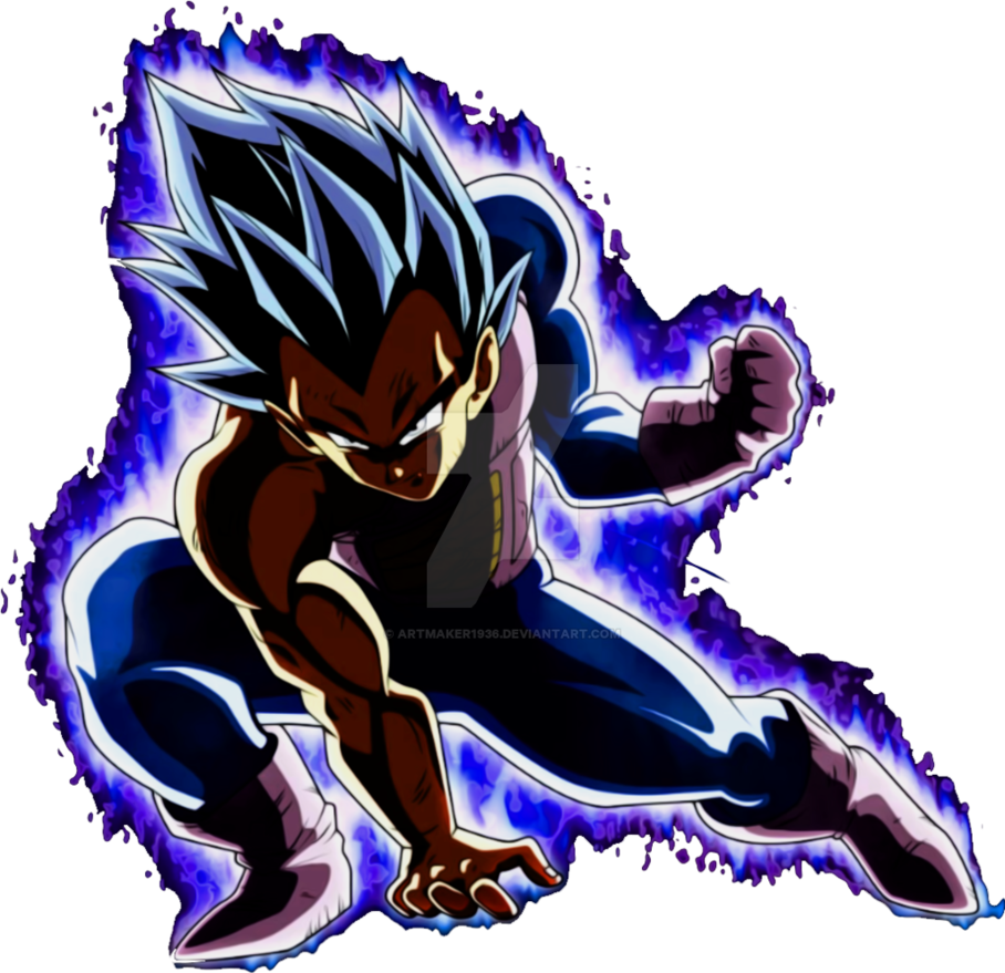 VEGETA ULTRA INSTINCT by ARTMAKER1936 908x879