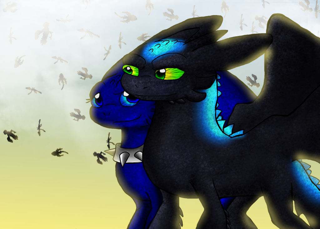 Alpha Toothless Wallpaper The alpha and his beta by 1024x735