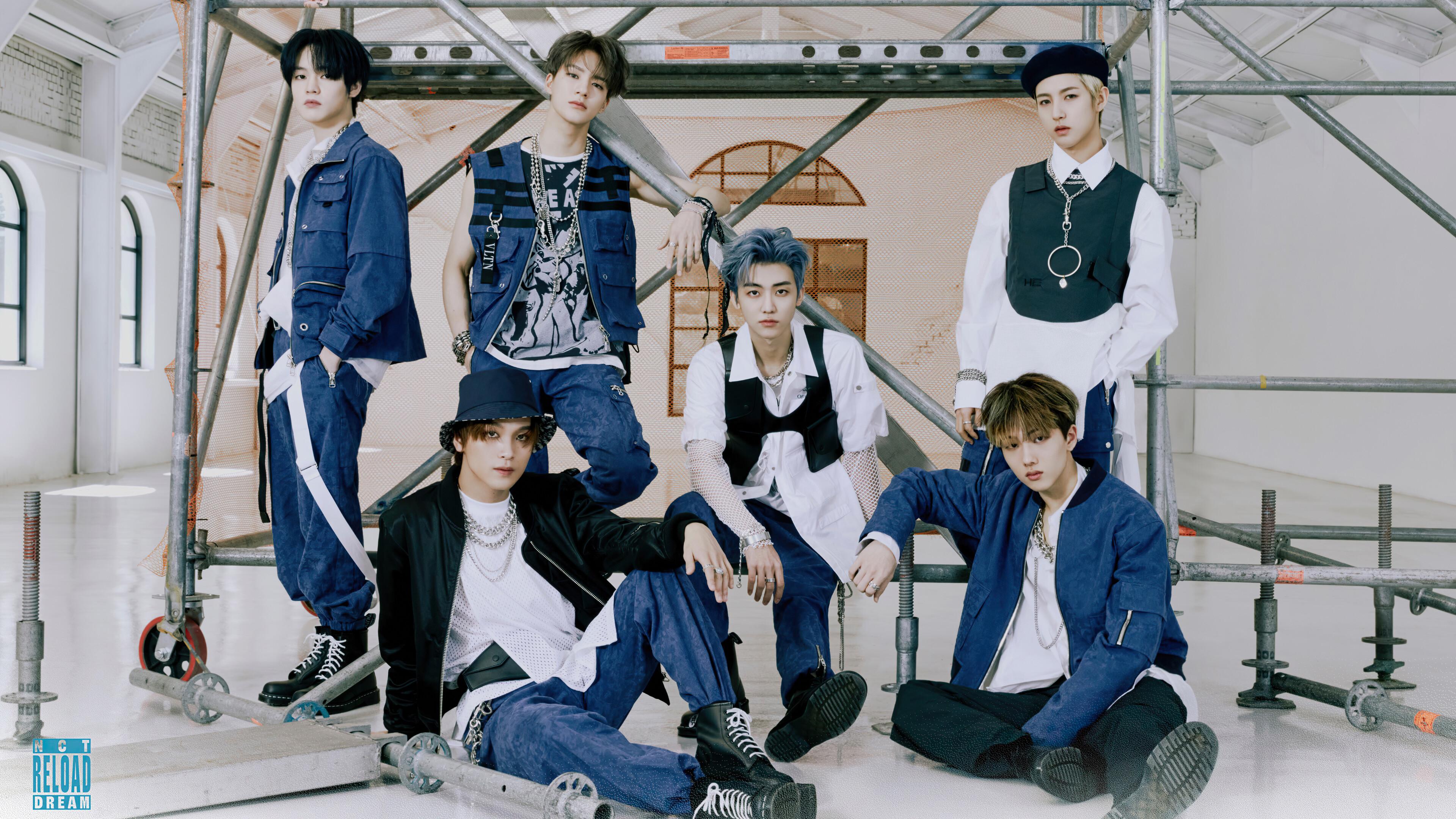 NCT Dream Ridin All Members 4K Wallpaper 61524 3840x2160