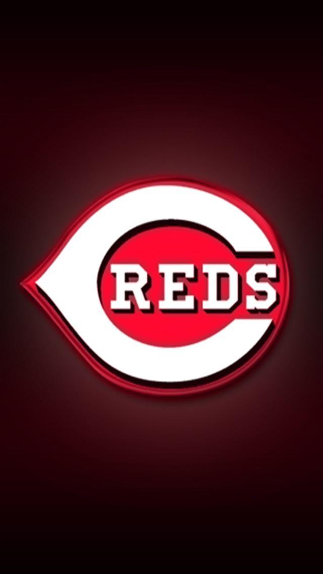 Cincinnati Reds Logo Iphone Wallpapers Iphone 5 S 4 S 3g Wallpapers 640x1136