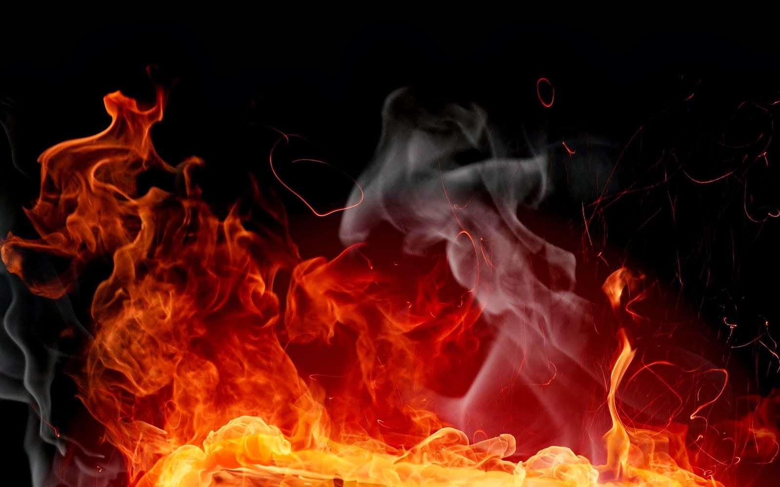 BLACK AND RED FIRE HD WALLPAPERS FREE HD WALLPAPERS 1600x1000