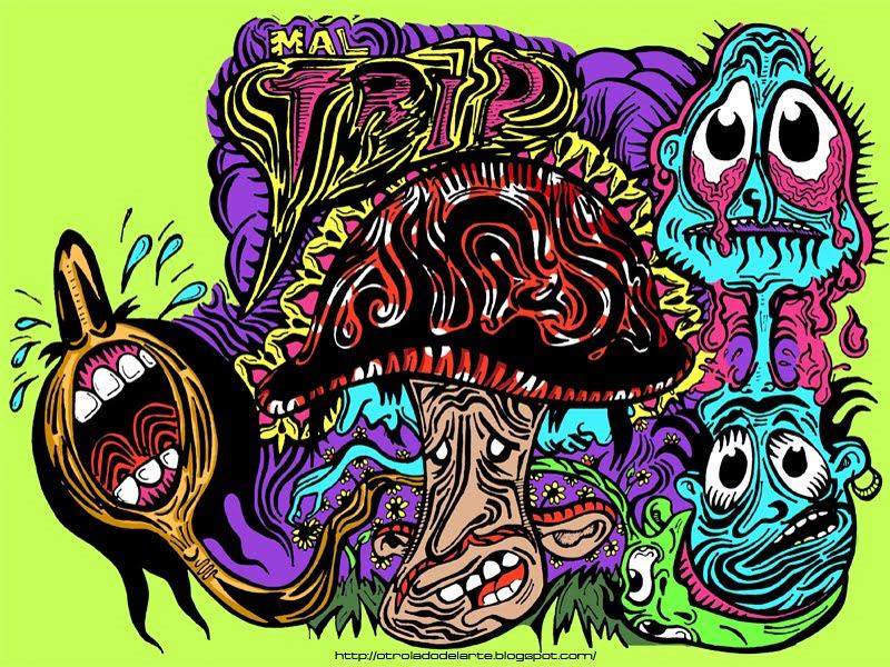 Acid Trip Wallpaper 800x600