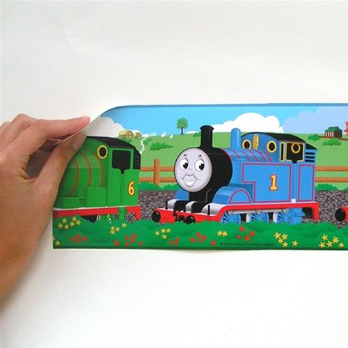 Details about THOMAS the TRAIN WALL BORDER Wallpaper Removable Decor 500x500