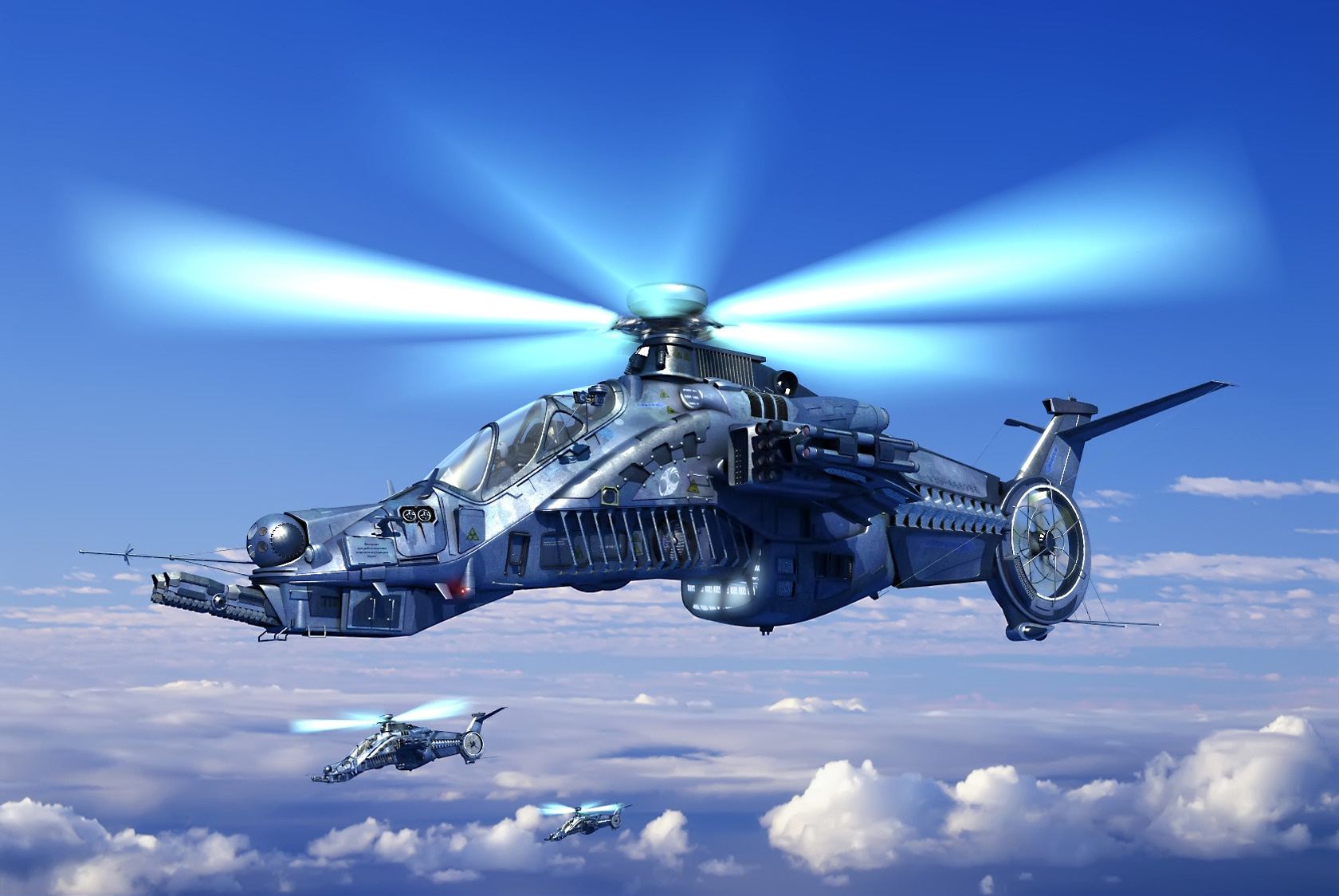 Wallpaper helicopter clouds desktop wallpaper Aircrafts and Planes 1680x1124