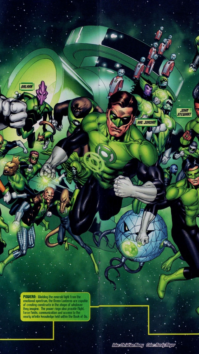download Green Lantern Corps Wallpapers Top Green Lantern 640x1136