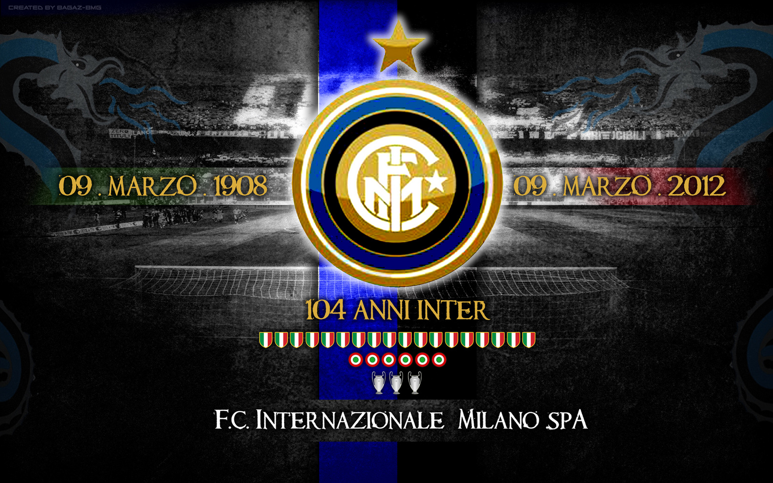 Inter milan wallpaper wallpapersafari inter milan wallpaper voltagebd Image collections