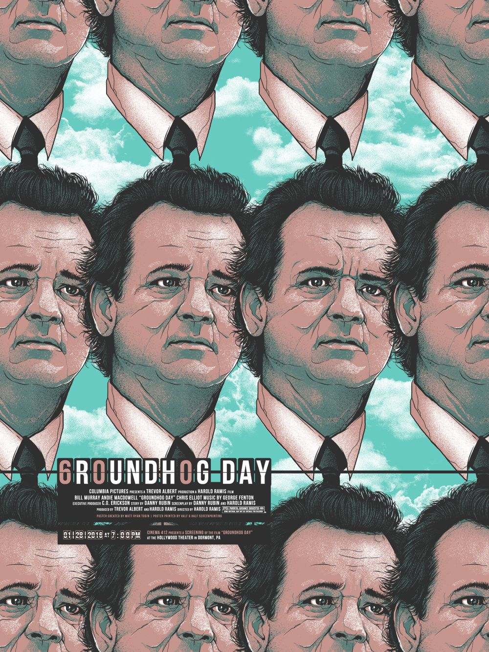 Groundhog Day by Matt Ryan Tobin   that expression on the one face 1000x1333