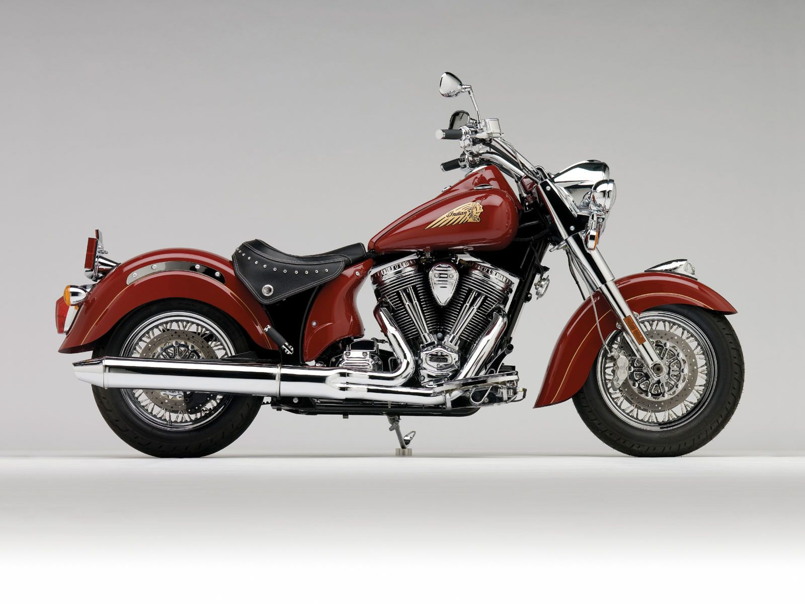2009 INDIAN Chief Standard motorcycle desktop wallpaper 1600x1200