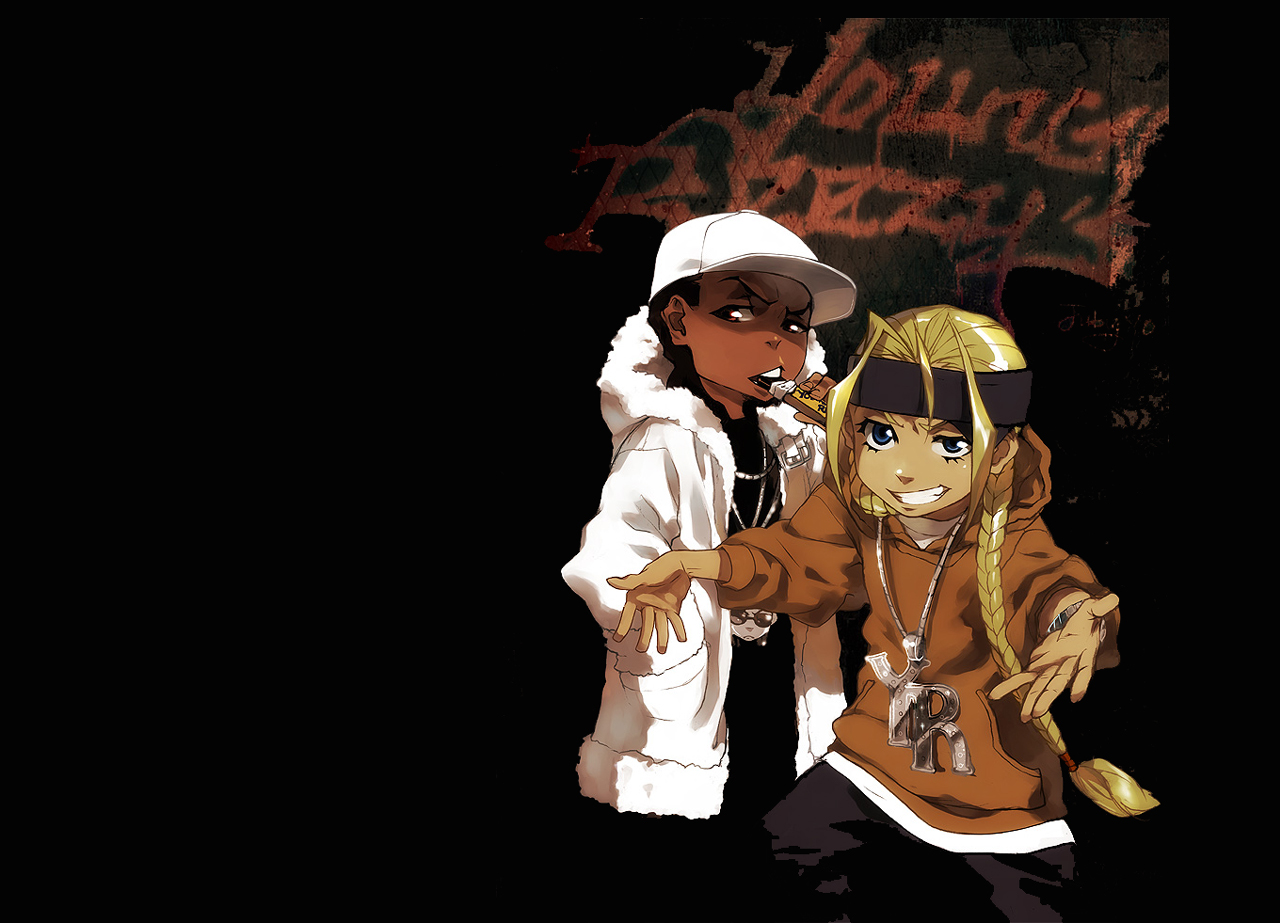 viewing the boondocks hd wallpaper color palette tags the boondocks 1280x923