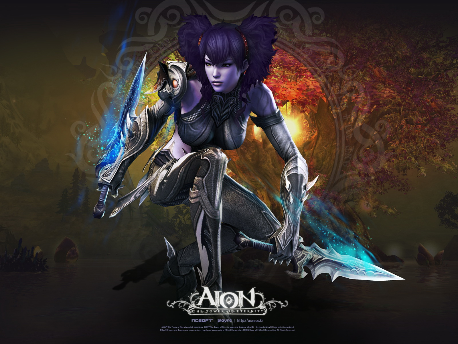Female Assassin   Aion The Tower of Eternity 1600x1200