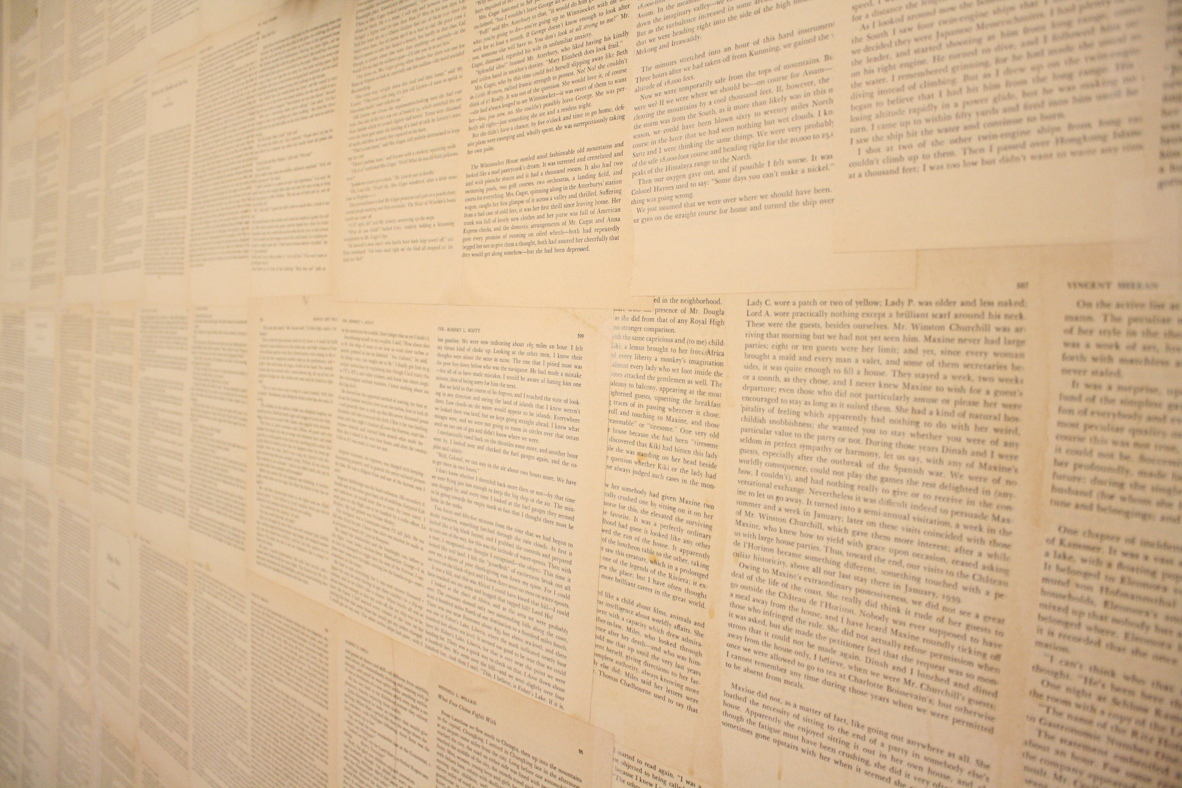 Wallpaper With Book Pages Wallpapersafari