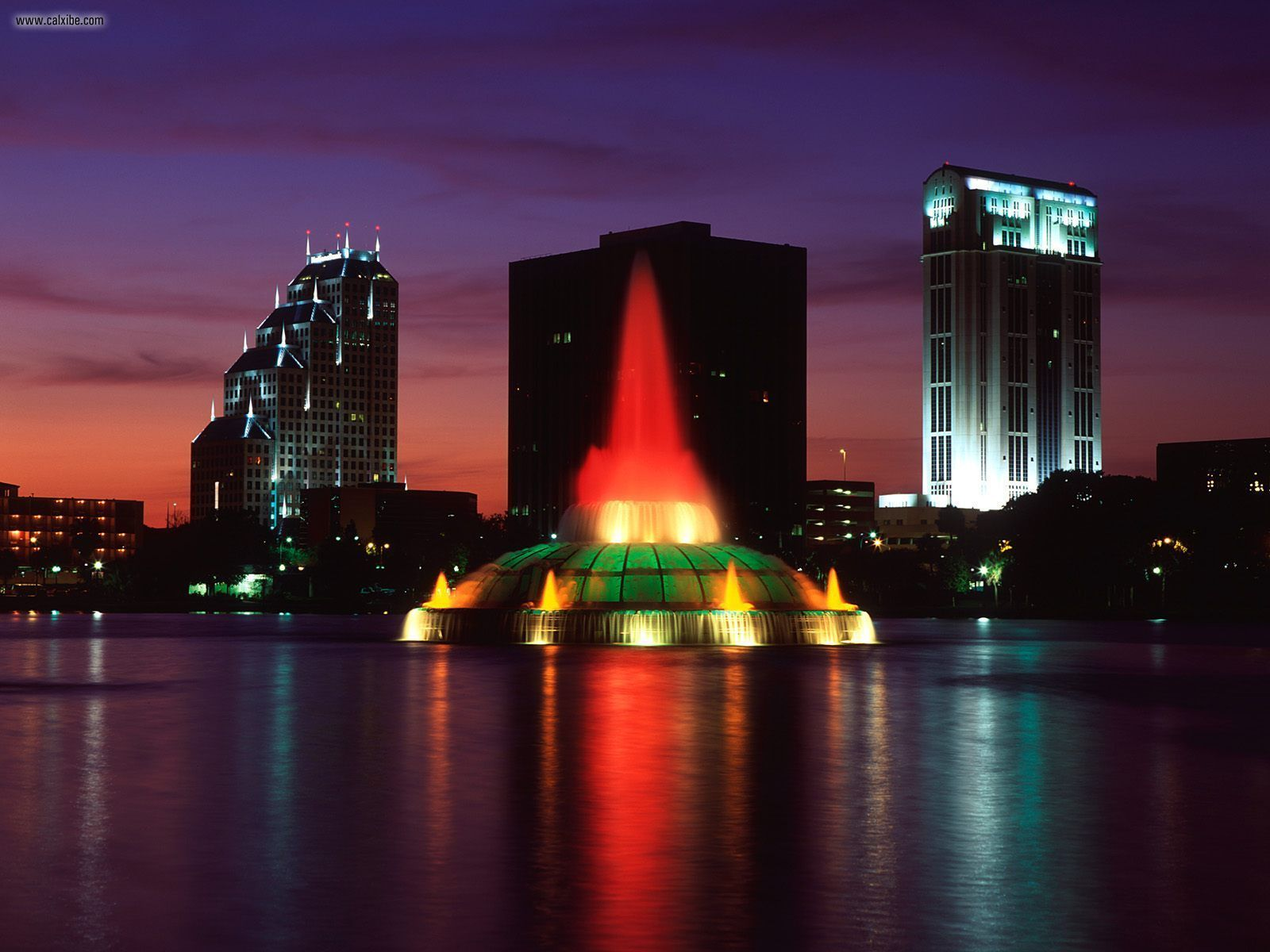 Buildings City Lake Eola Orlando Florida picture nr 22726 1600x1200
