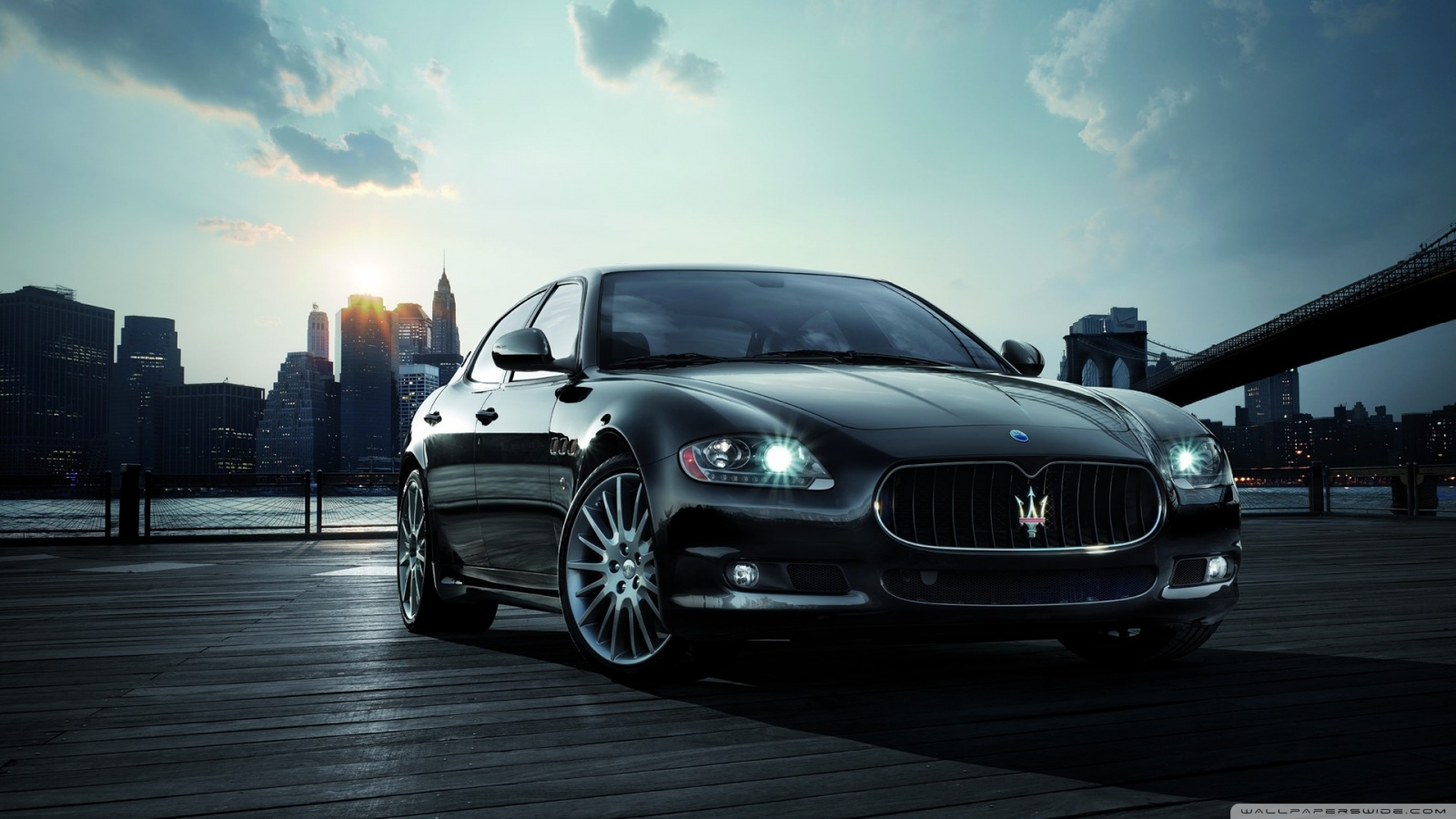 Download Maserati Car 6 wallpaper 1600x900