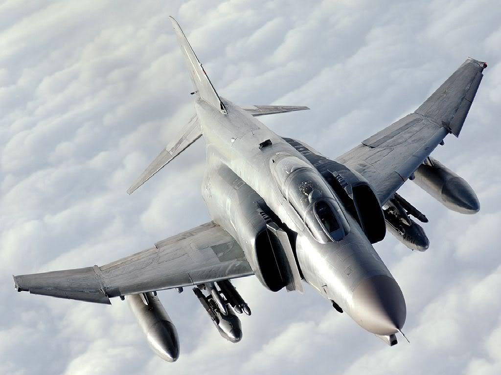 "F4 fighterjet phantom Poster 24/"" x 36/"" HD"