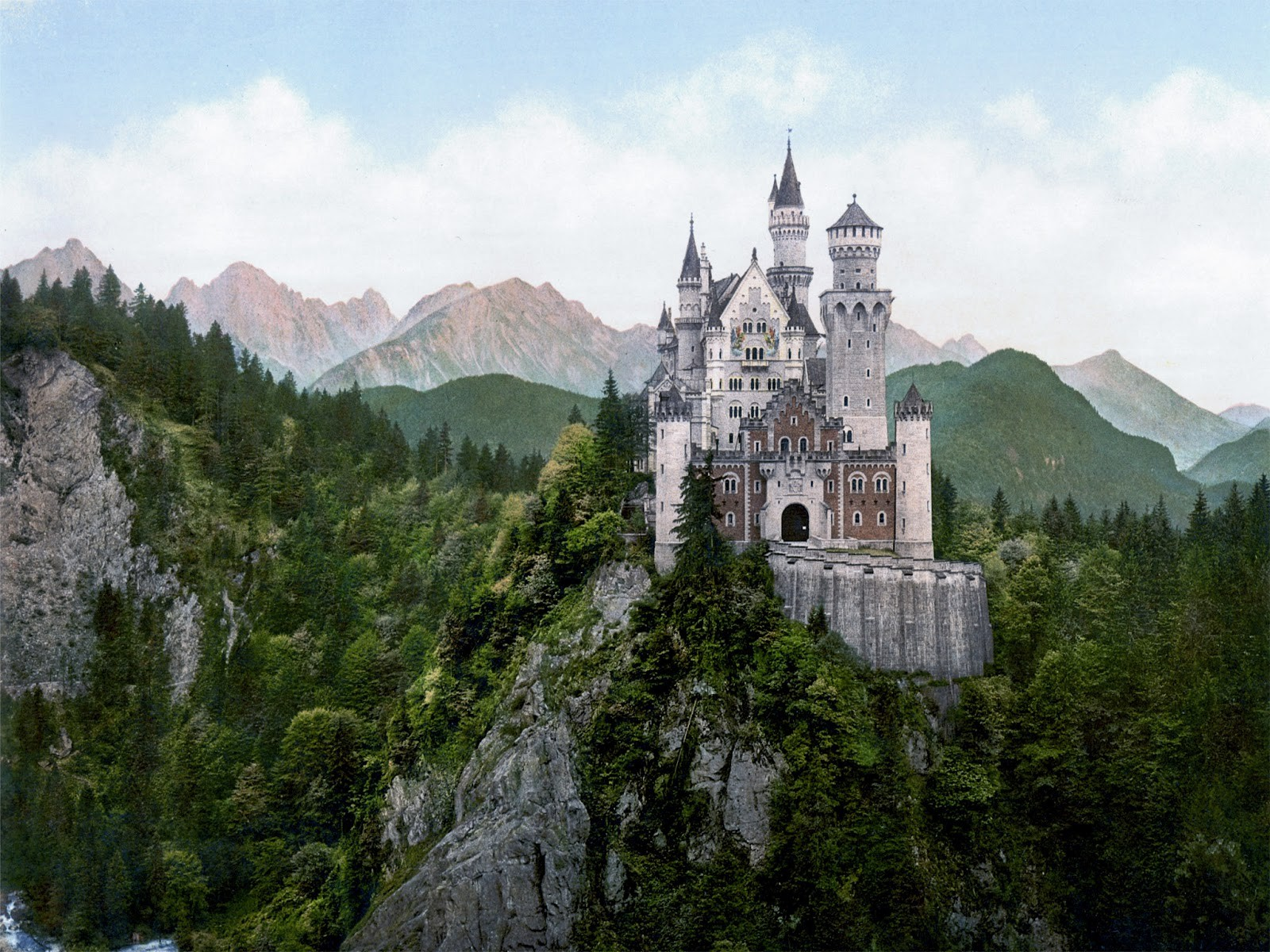 Amazing Look of Castle in Germany HD Wallpapers HD Wallpapers 1600x1200