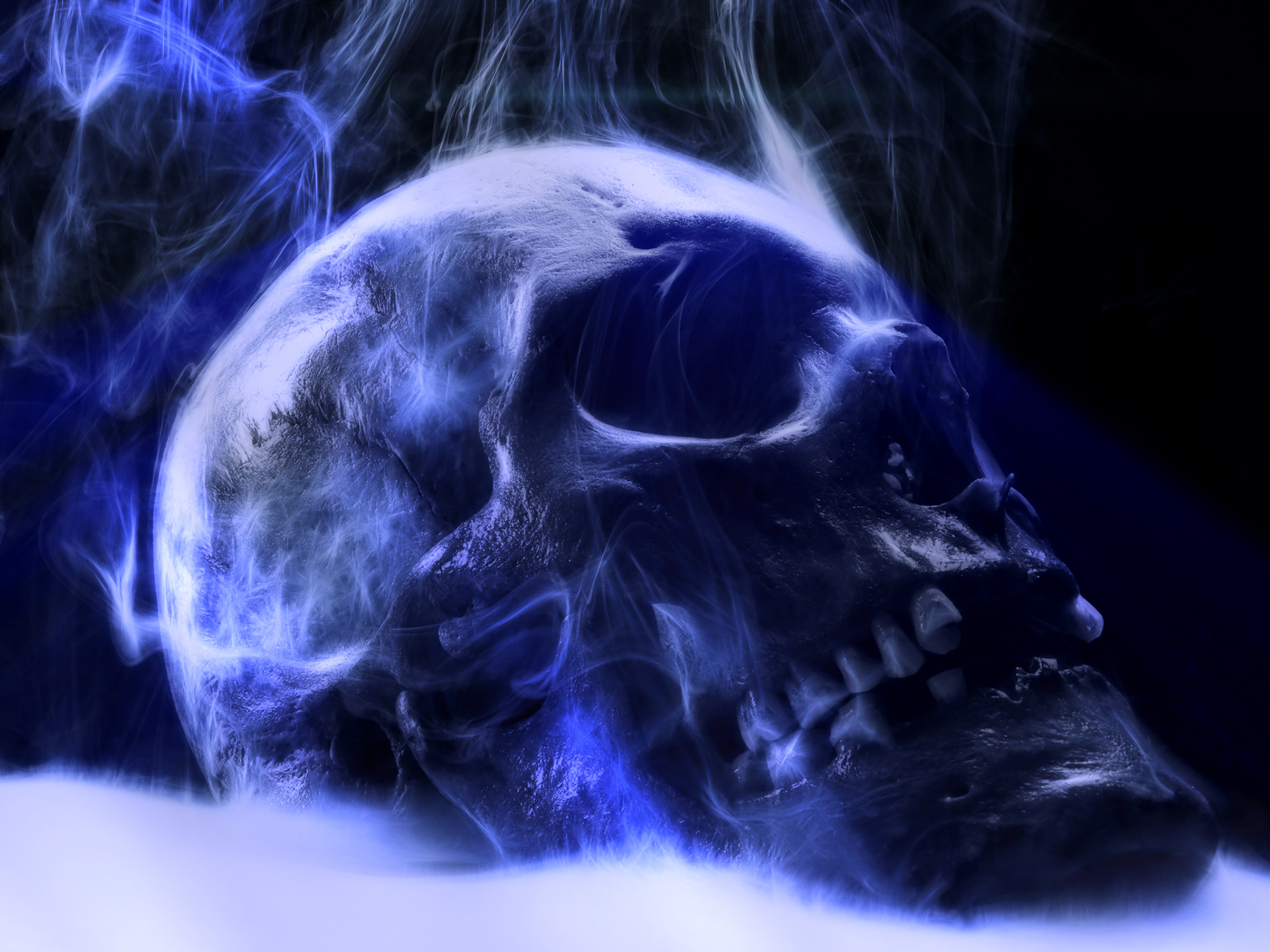 Smoking Skull Wallpapers - WallpaperSafari