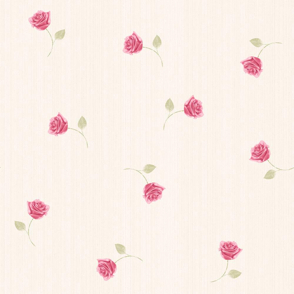 Muriva Rose Rose Wallpaper 116502 This beautiful soft floral motif 1000x1000