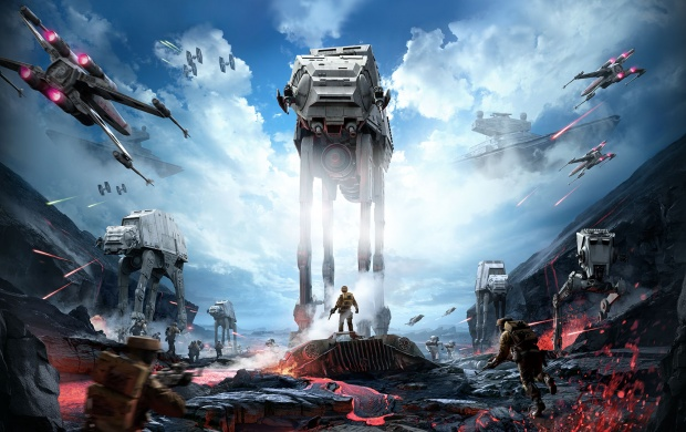Star Wars Battlefront Art click to view 620x390