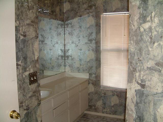 decoupage wallpaper scrap bathroom Glendale Arizona home house real 640x480
