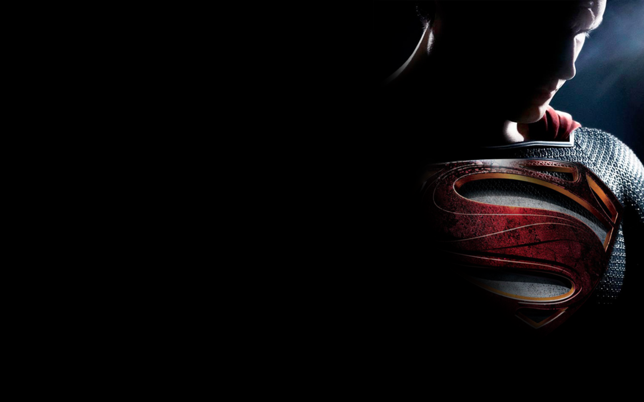 Superman Man of Steel by rehsup 1280x800