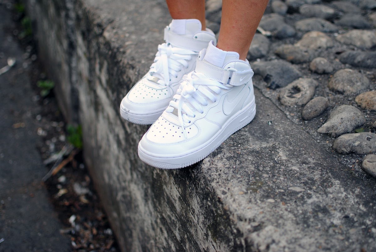 nike air force blanche haute