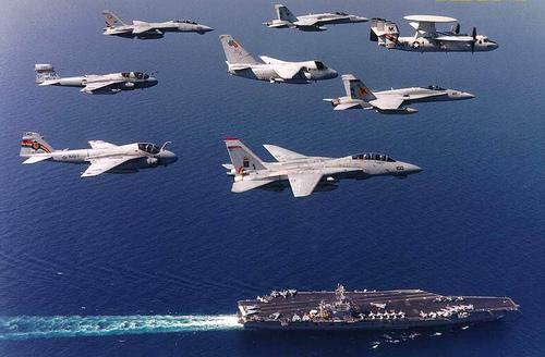 navy airplane wallpaper US Navy   F14 Tomcat F18 Hornet 02 500x328