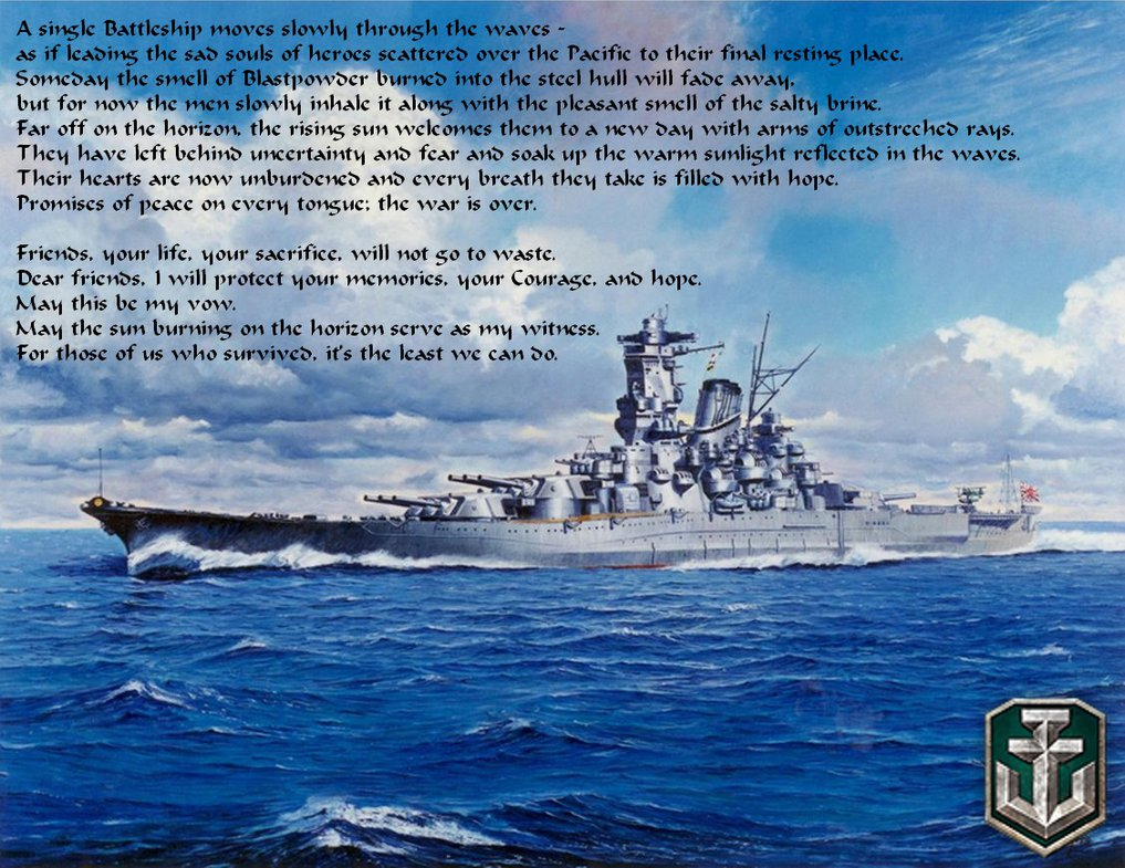 World of Warships   Memoriam of the Pacific War 1 by Luigi Mario on 1017x785