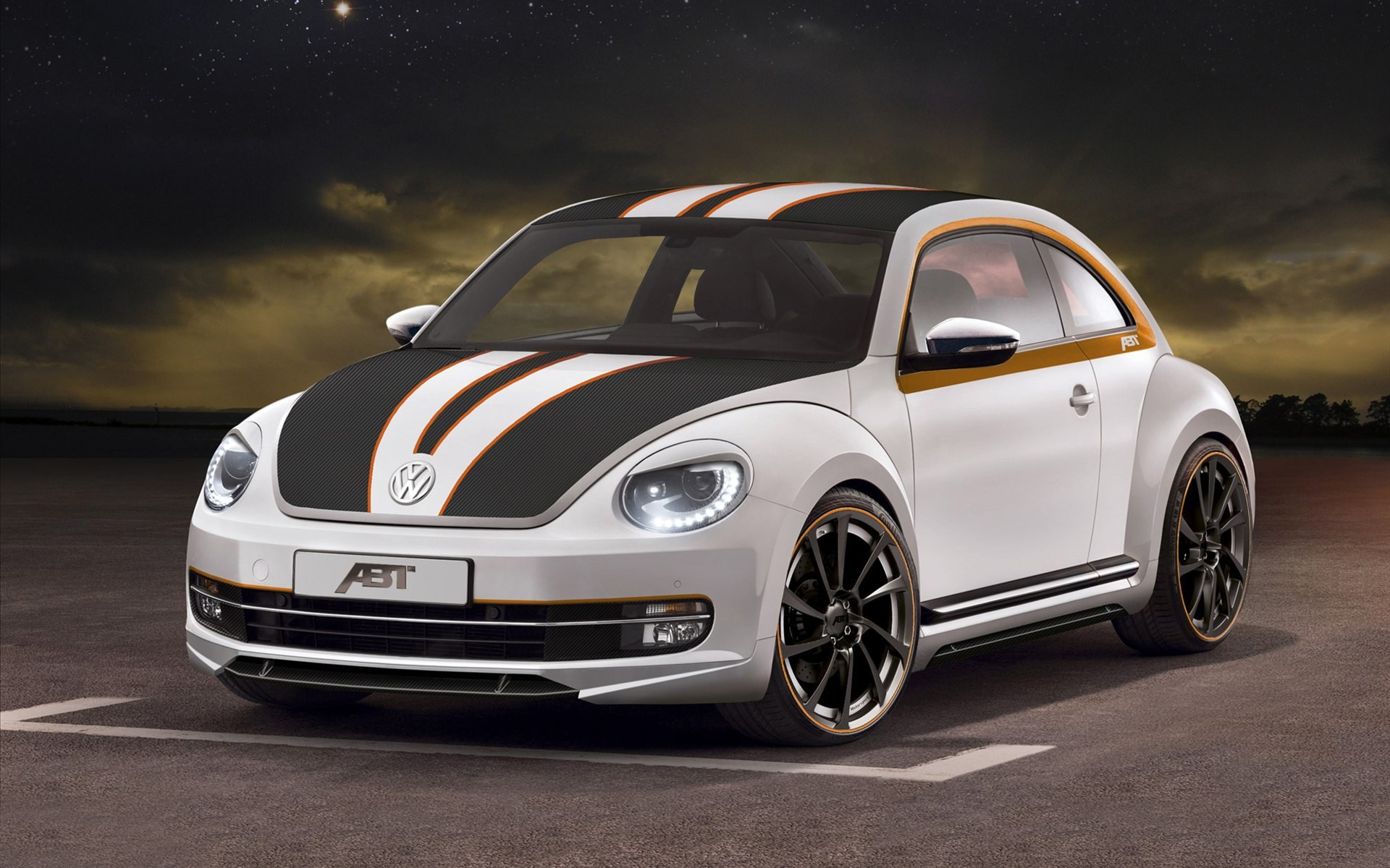 ABT Sportsline Volkswagen Beetle 2012 Wallpaper HD Car Wallpapers 1920x1200