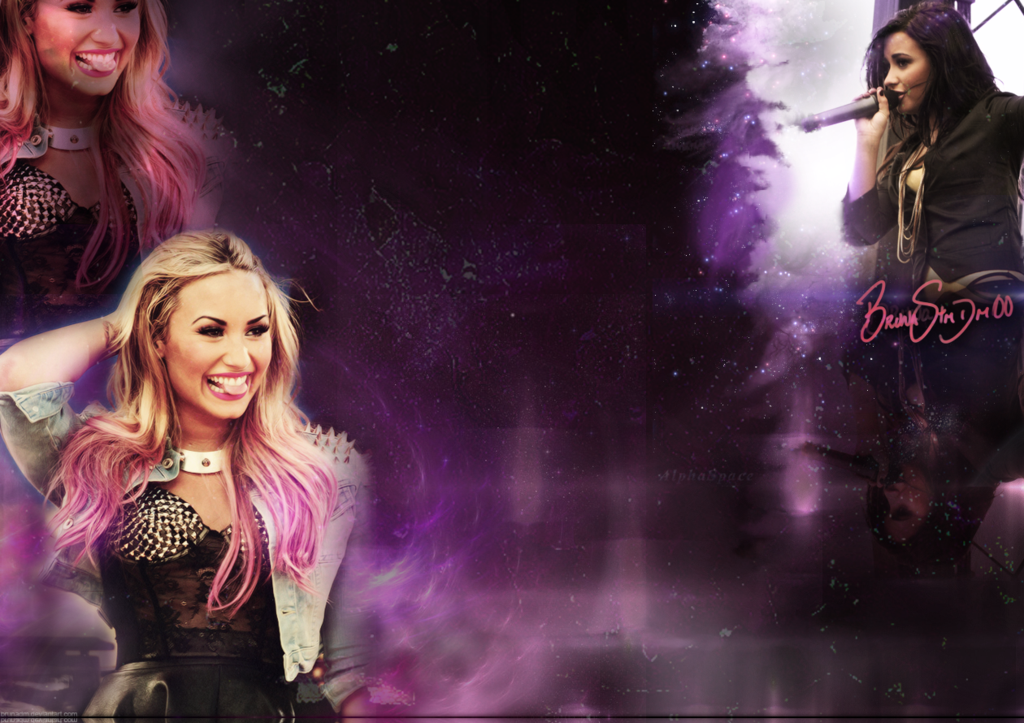 Background Twitter   Demi Lovato by BrunaDM 1024x723