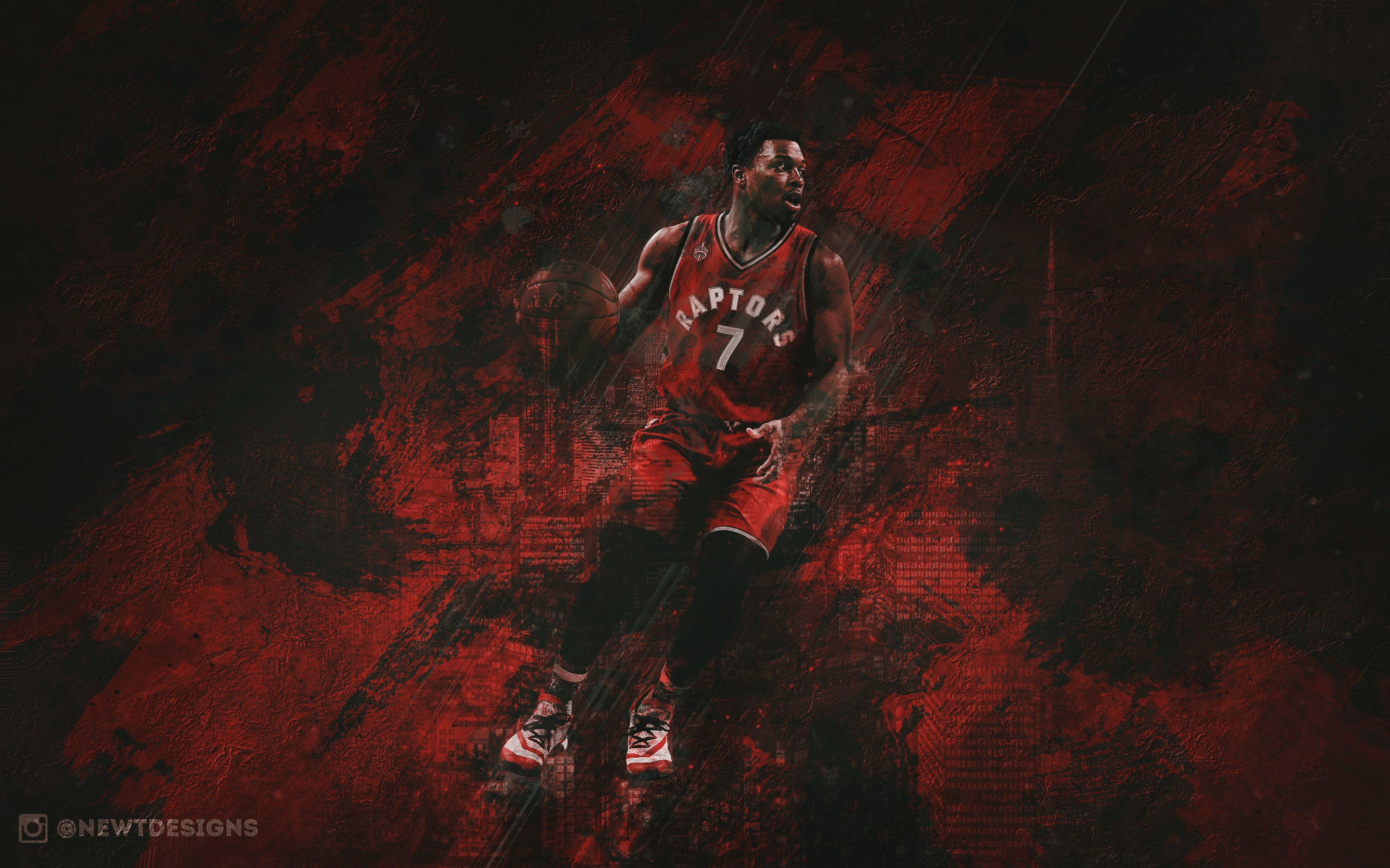 Kyle Lowry Raptors 2016 Wallpaper Basketball Wallpapers at 2880x1800