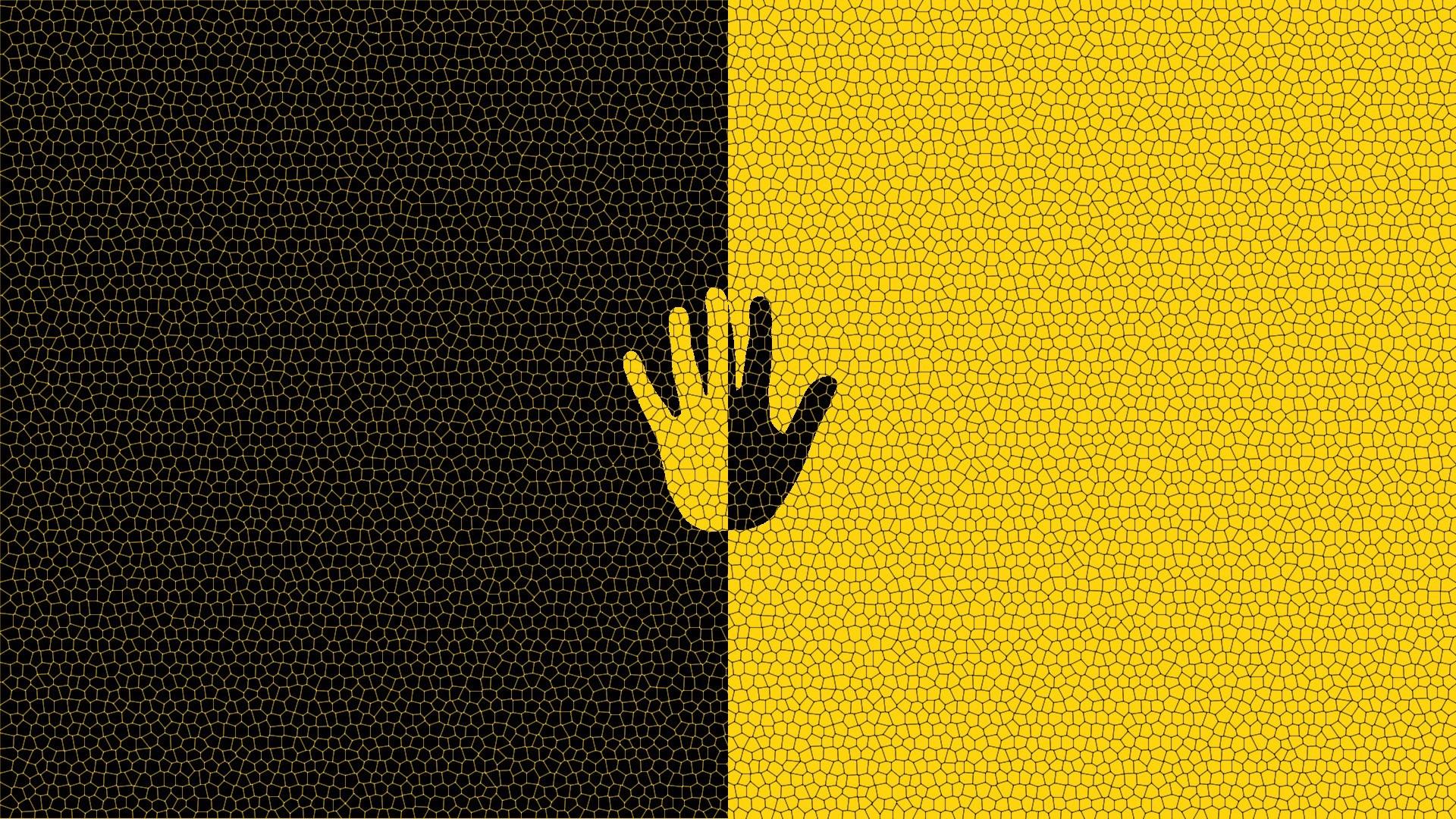 Black And Yellow Wallpaper Wallpapersafari