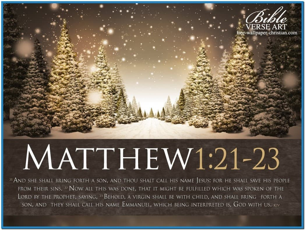 christian christmas wallpaper free