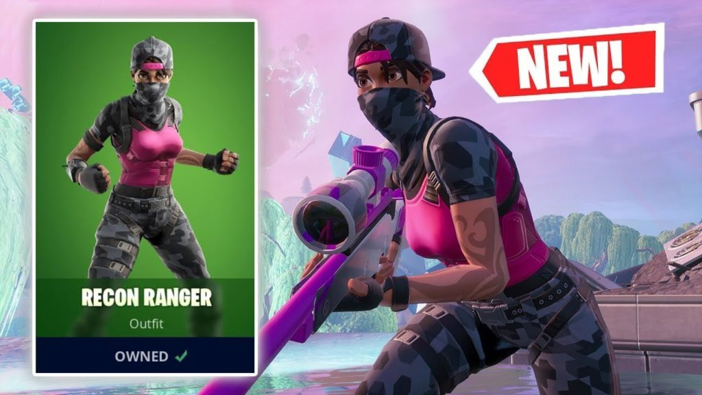 Recon Ranger Is Back Recon Ranger Fortnite Wallpapers for All 1024x576