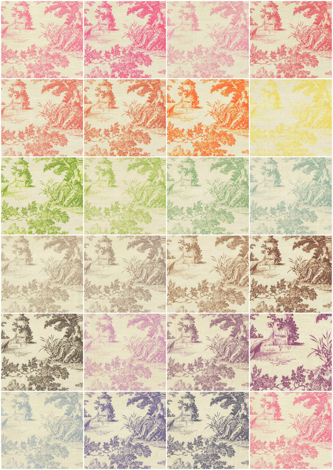 toile de jouy design to add to my fabric and wallpaper range for 1132x1600