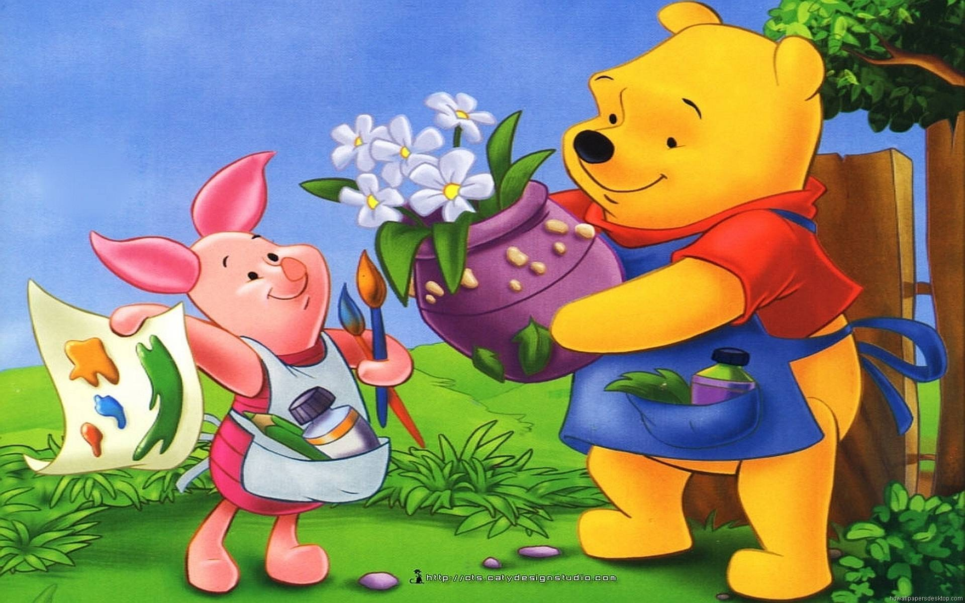 Piglet and Pooh   Disney Wallpaper 1920x1200