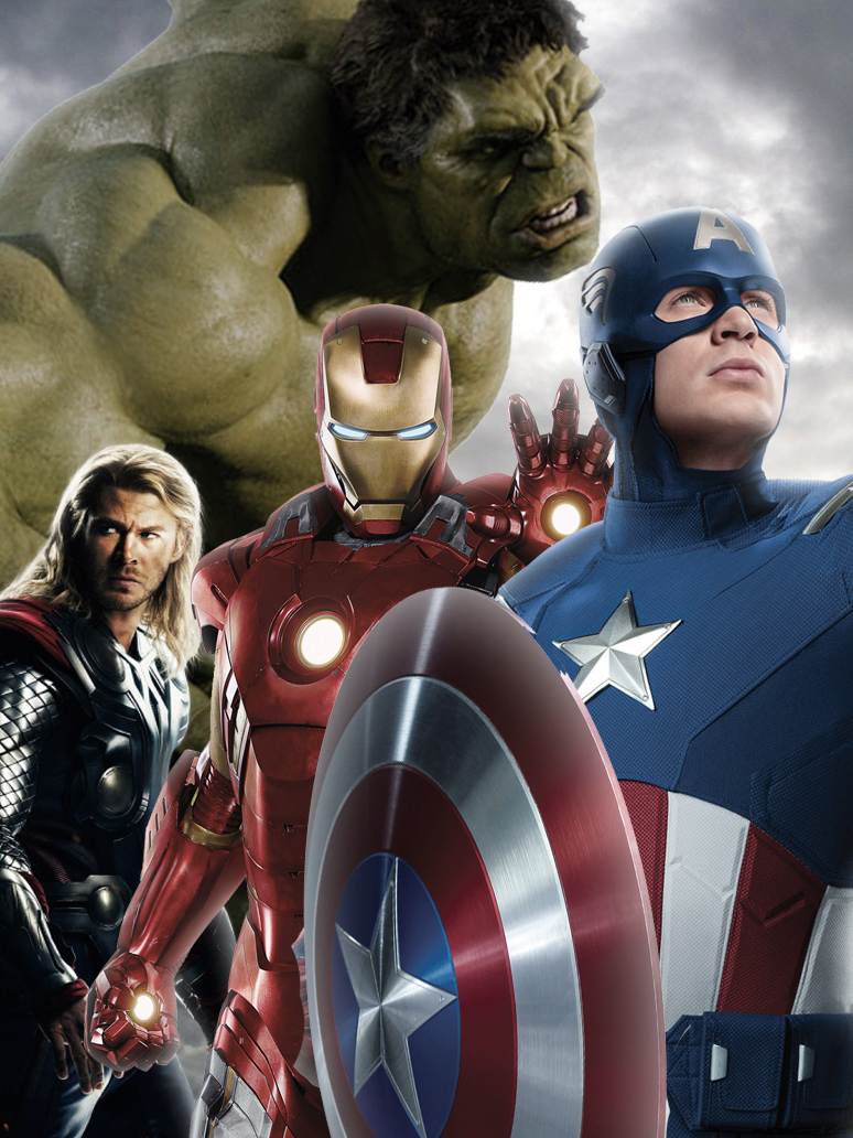 The Avengers   iPod TouchiPhone Wallpaper by StephenCanlas on 774x1032